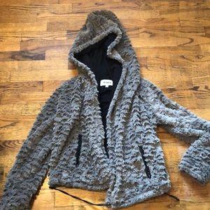 Fuzzy/ Faux Fur BB Dakota Jacket